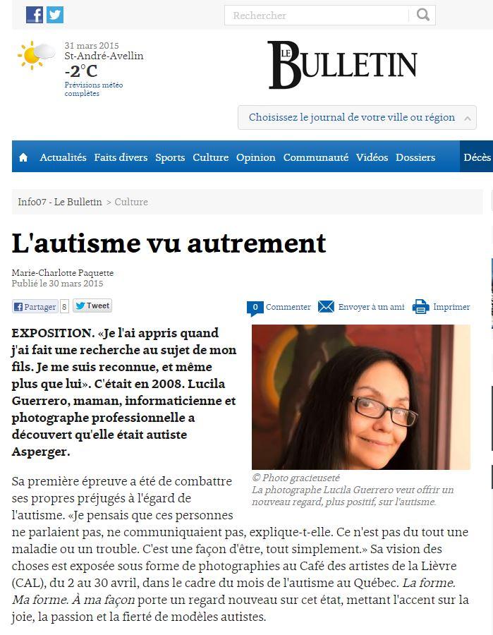 Le Bulletin mars 2015