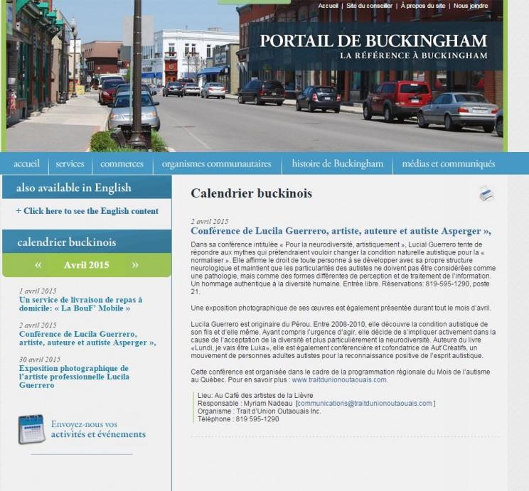 buckingham avril 2015