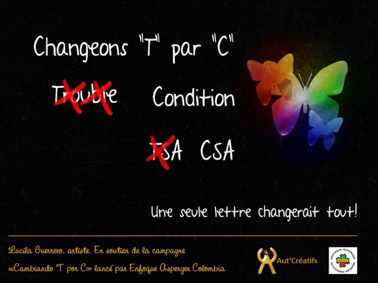 Changeons T par C