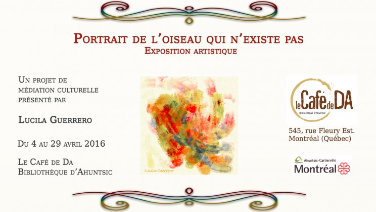 Annonce Exposition